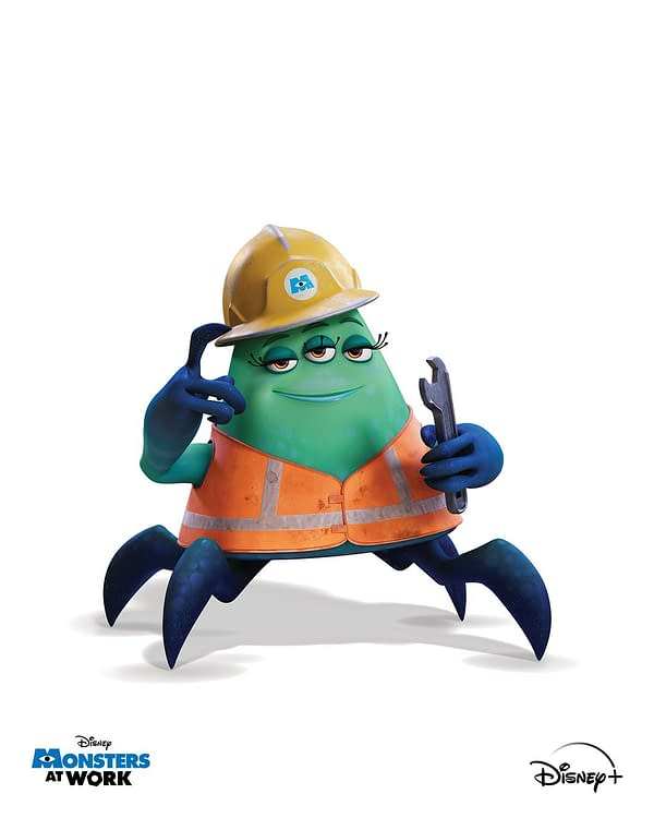 Monsters at Work: Disney+ Shares Preview Image from Sequel Series