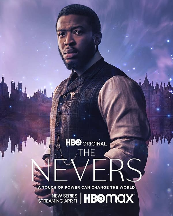 The Nevers Character Posters Intro HBO Series' Major Power Brokers