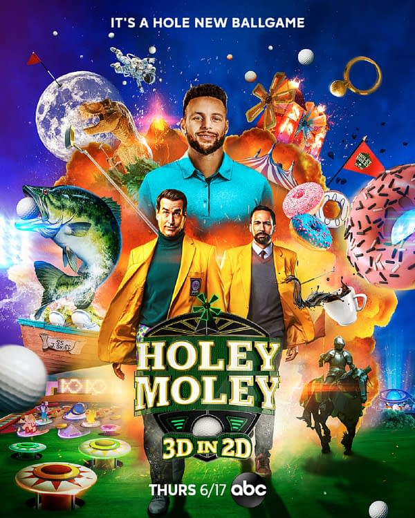 Holey Moley 3D in 2D Preview: Facing Earth, Wind, Fire- and Donuts?