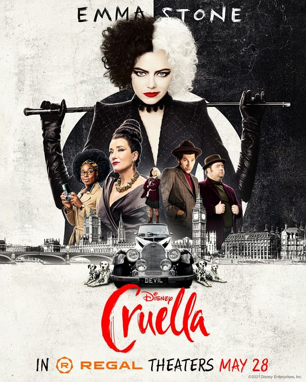 Cruella: 2 Posters, 2 Behind-the-Scenes Images as Tickets Go On Sale