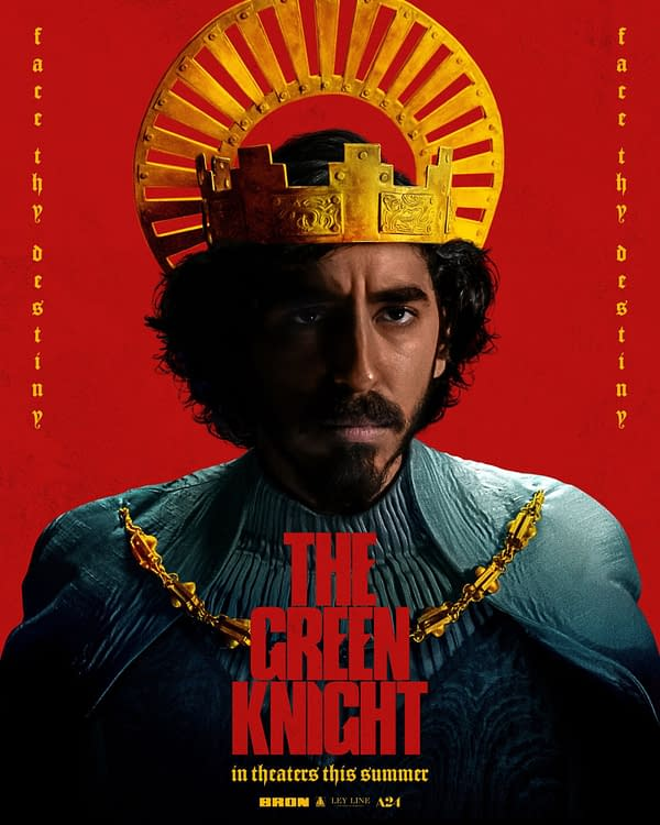 The Green Knight: A New Poster Ahead of a New Trailer Tomorrow