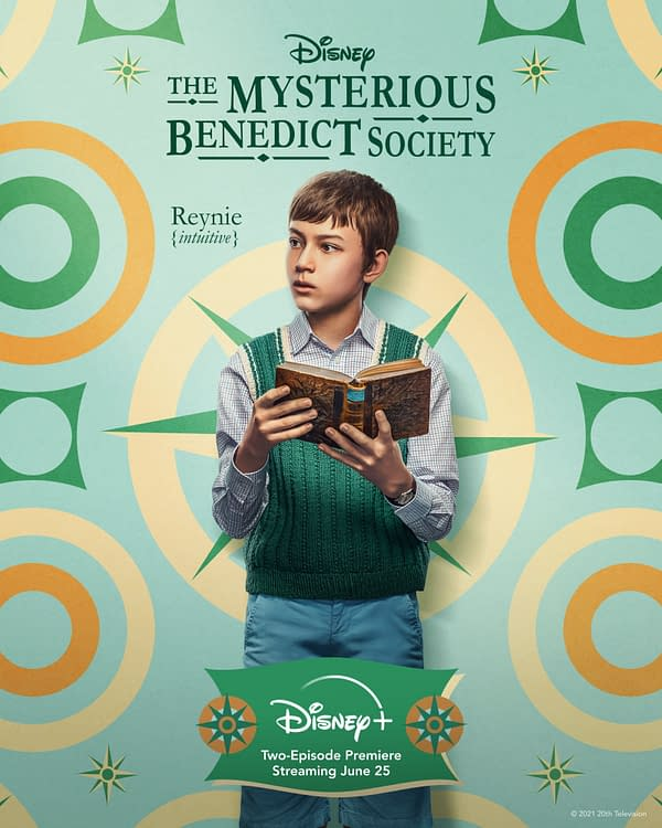 The Mysterious Benedict Society Character Posters; 2-Ep Debut Friday