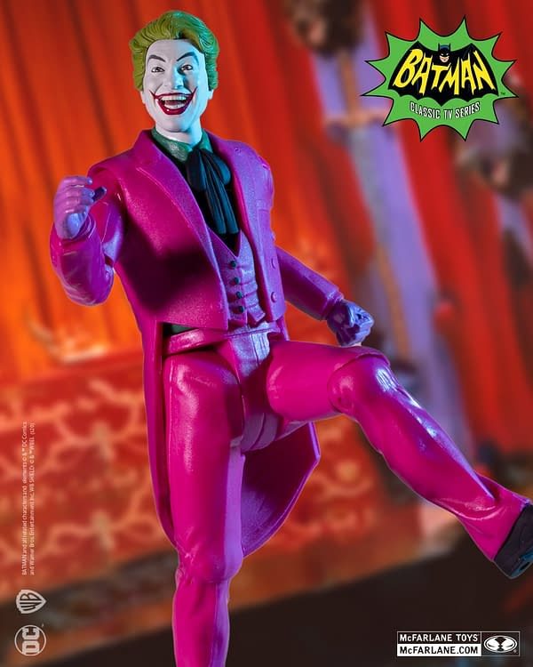 The Joker Comes Back From 1966 Thanks To McFarlane Toys