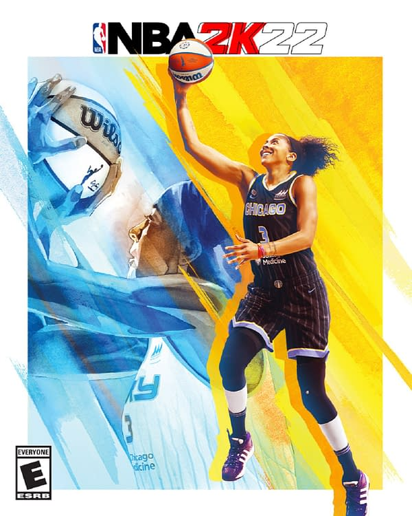 2K Games Names Candace Parker As An NBA 2K22 Cover Athlete