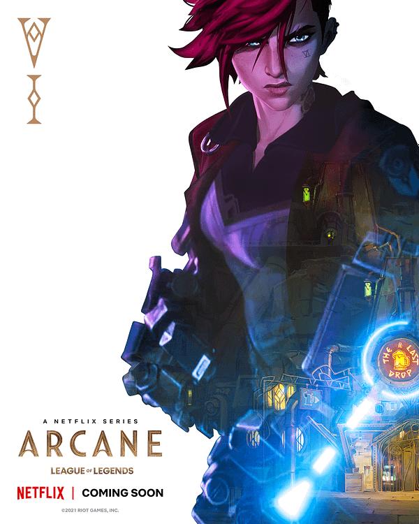 Arcane: League Of Legends Netflix Series Gets A Trailer & A Date