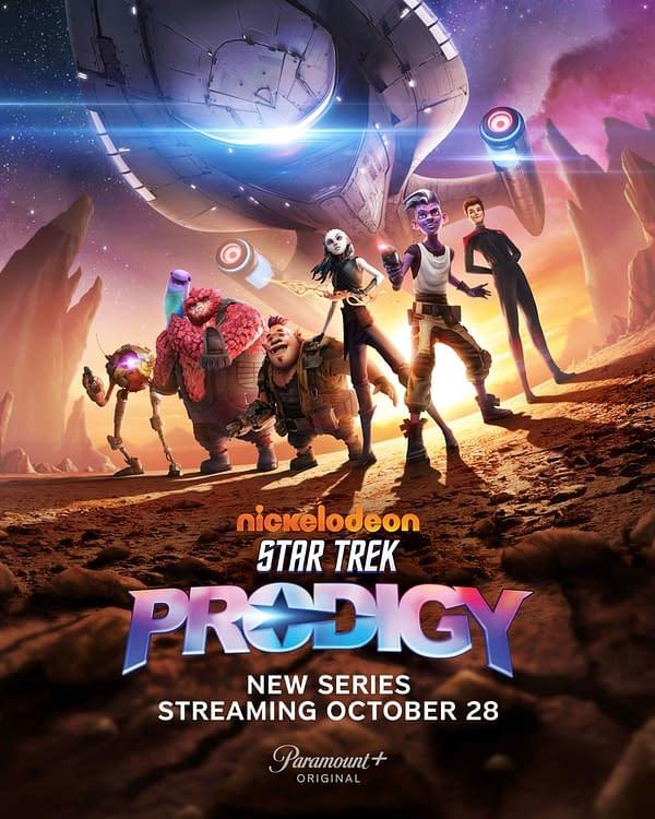 Star Trek: Prodigy Shares Official Trailer, Key Art for Star Trek Day