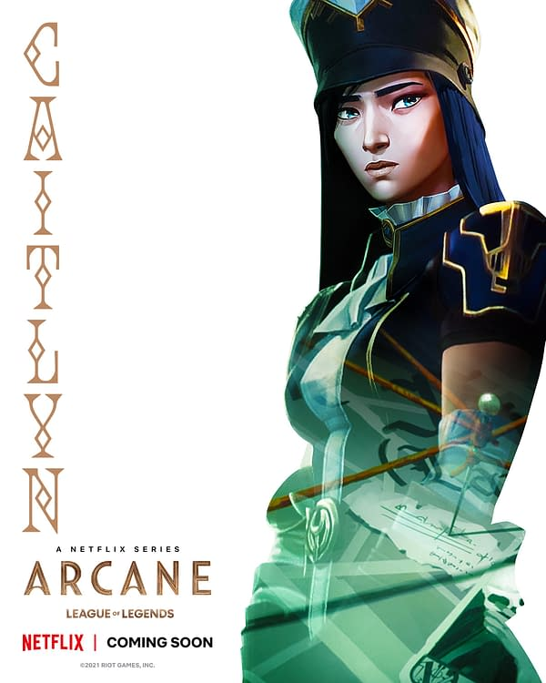 Arcane Character Posters Unveiled by Riot Games and Netflix