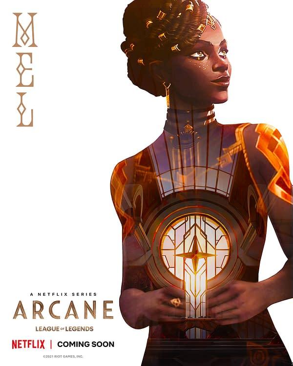 Arcane: Riot Games & Netflix Series Unveils Character/Cast Posters