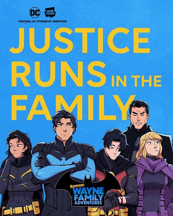 Batman: Wayne Family Adventures is the First DC-Webtoon collaboration
