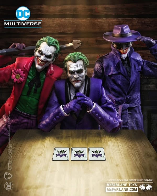 DC Comics The Three Jokers Figures Coming Soon to McFarlane Toys