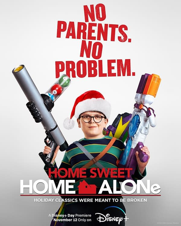 Home Alone Disney+ Sequel Trailer & Poster Debuts, Out November 12th