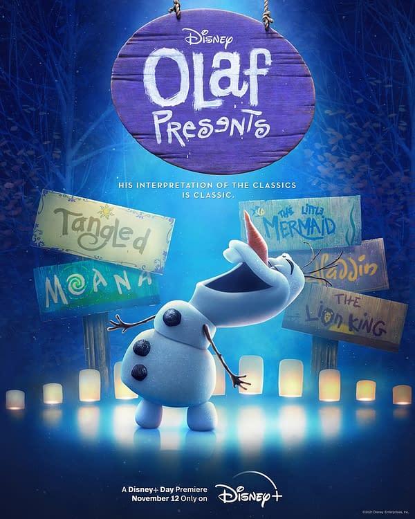 Frozen's Olaf Recreates Classic Disney Films In New Short Series