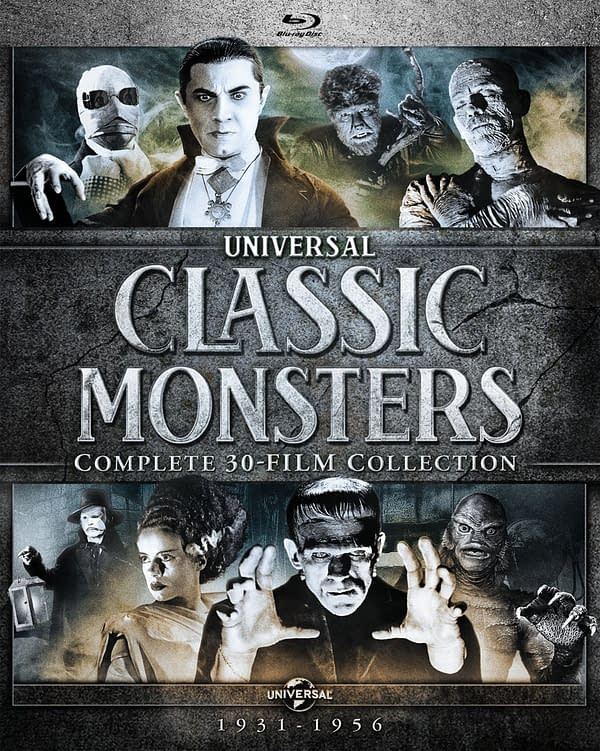 Universal Classic Monsters: Complete 30-Film Collection [Blu-ray]. Credit: Universe Pictures.
