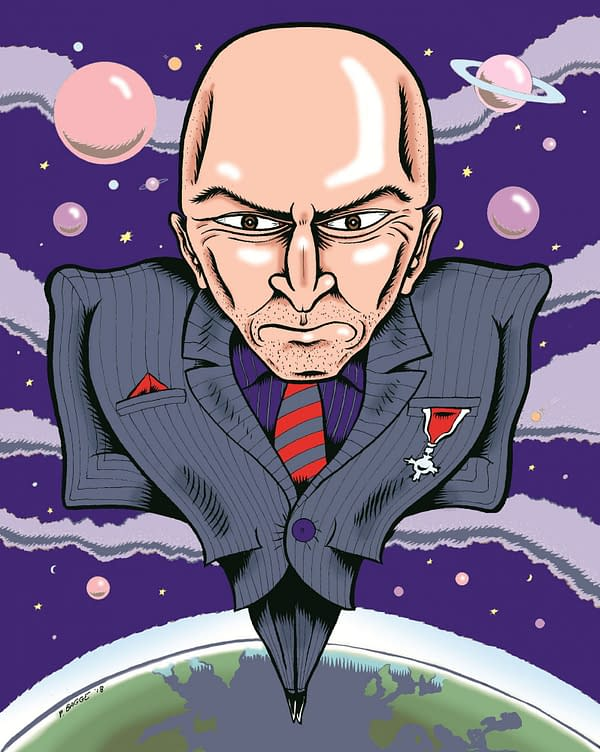 Full Bleed Vol 3 to Resurrect a Lost Grant Morrison Interview – About You Know Who