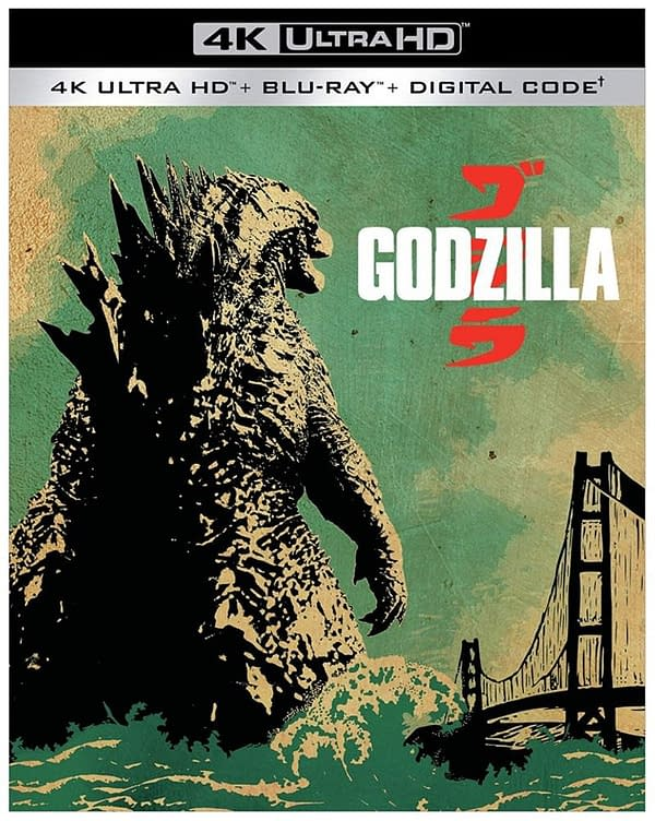 Godzilla 2014 Comes To 4K Blu-ray March 31st