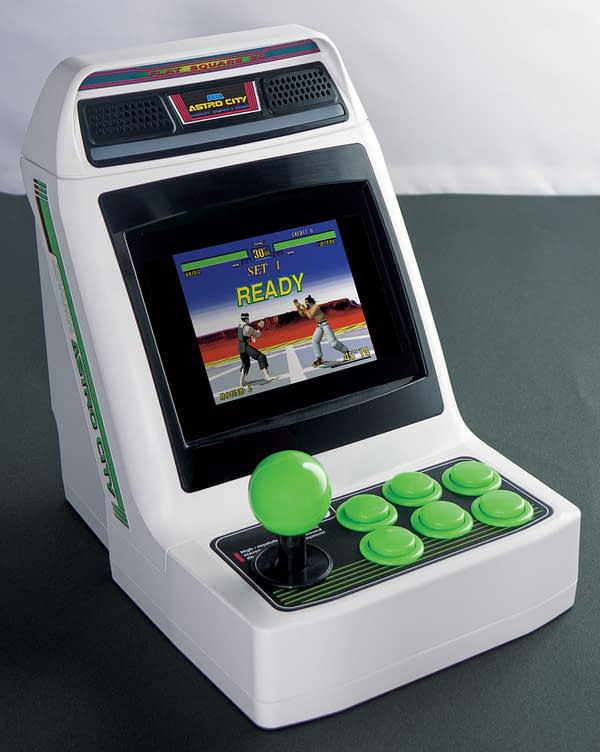 A look at the SEGA Astro City Mini Console, courtesy of Funstock.