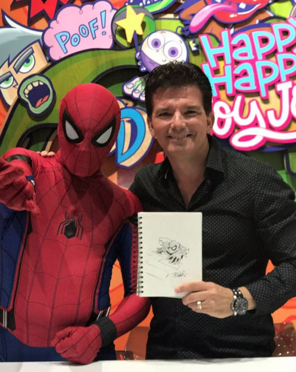 Bunsen Is A Beast! Went From Poster To Cartoon – Butch Hartman At SDCC