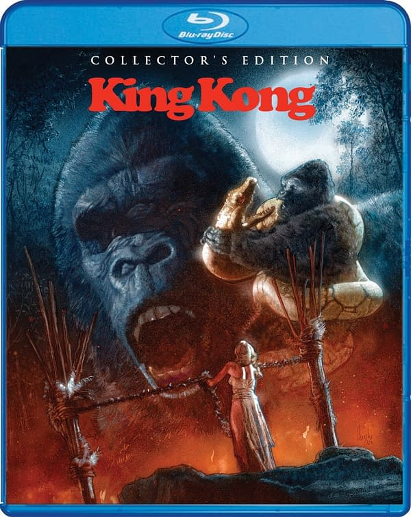 King Kong 1976 Will Hit Blu-ray From Scream Factory On May 11th