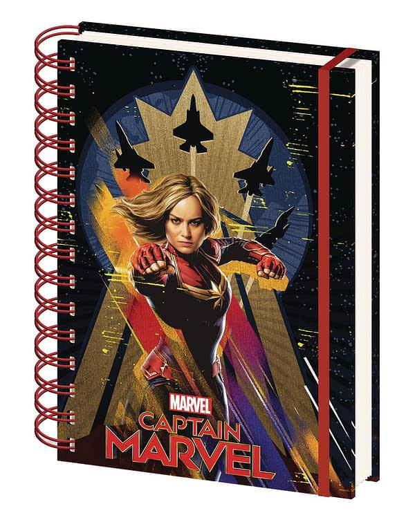 Hey Captain Marvel Fans, Check Out Pyramid America's New Merch!