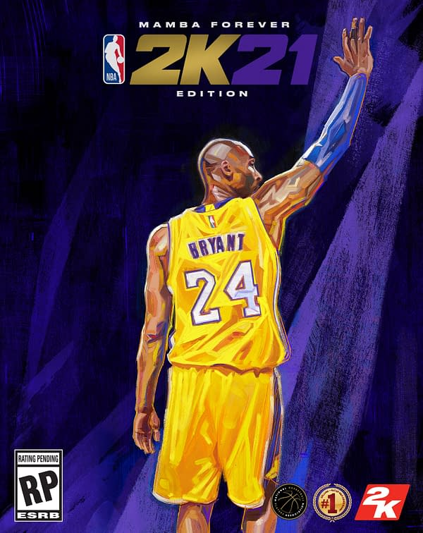 A look at the Mamba Forever Edition of NBA 2K21, courtesy of 2K Games.