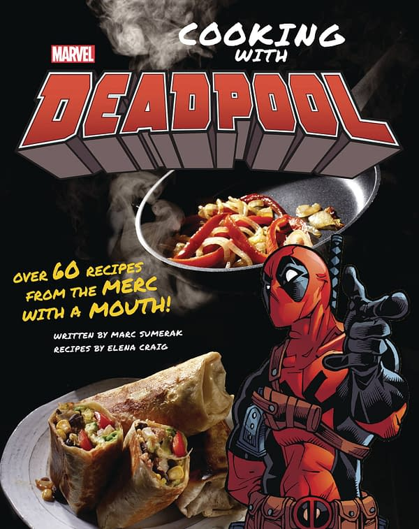 Cooking With Deadpool Recipe Book Begins By Choosing The Right Knife