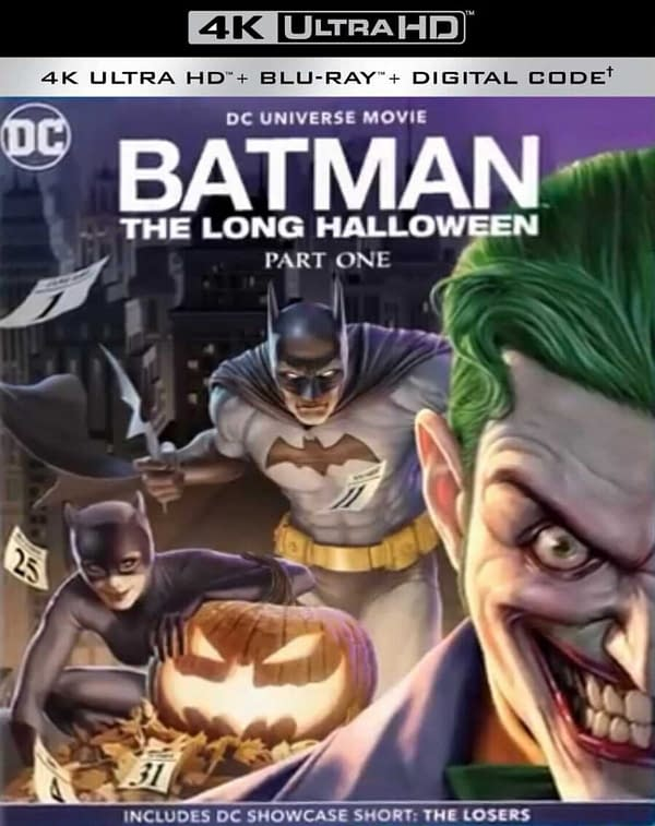 Batman: The Long Halloween Part One Trailer Drops, Out