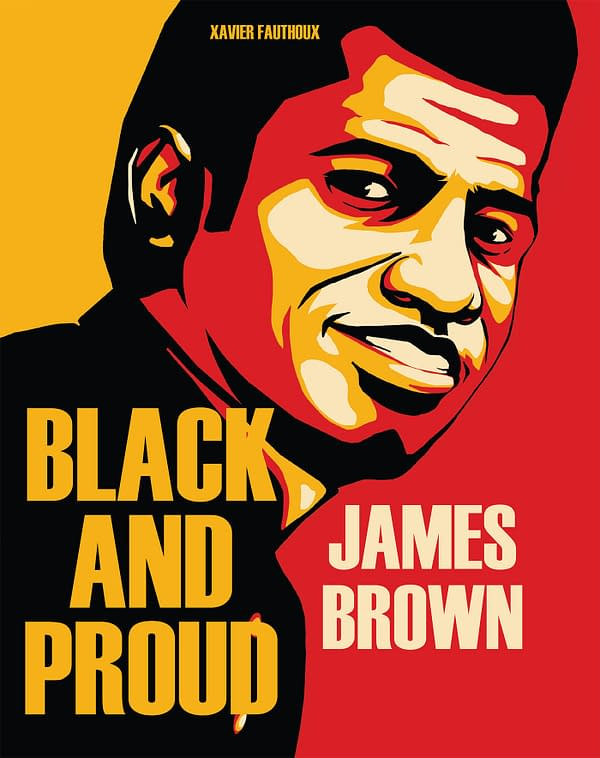 James Brown Biocomic 'Black and Proud' by Xavier Fathoux Announced by IDW