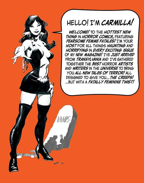 Separated At Birth: Vampirella vs Carmilla