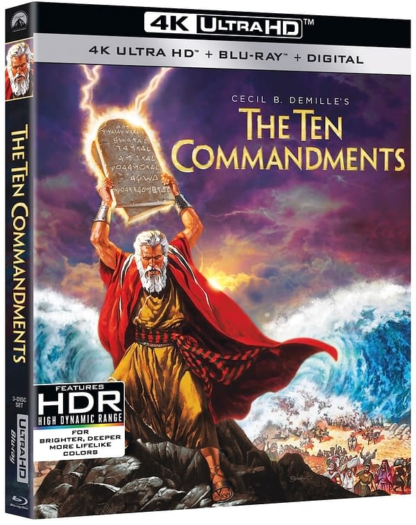The Ten Commandments Heads To 4K On March 30th