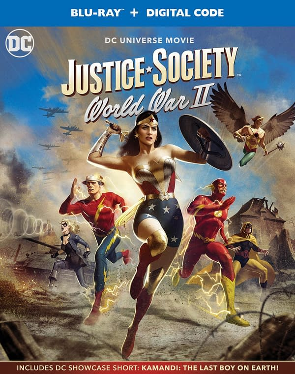 Behind the Scenes with the Makers of 'Justice Society World War II'