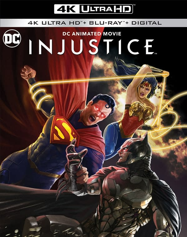 DC's Animated Injustice Available October 19th