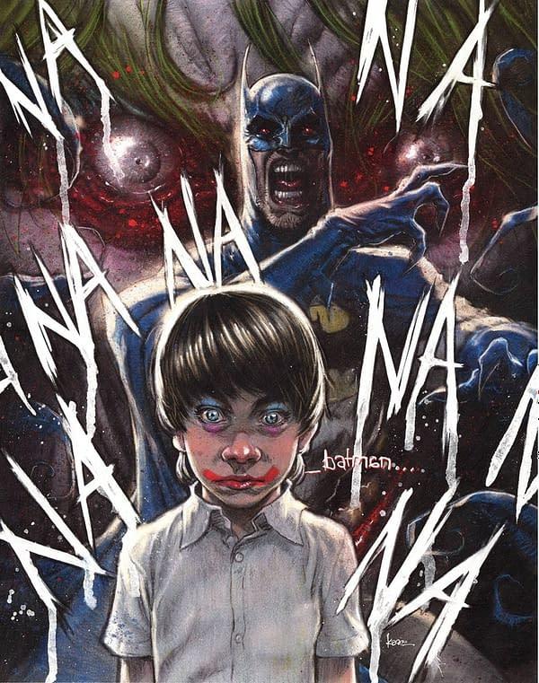 Batman The Smile Killer #1 Variant Cover