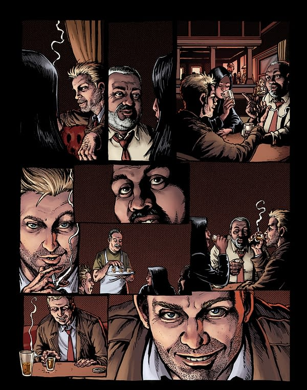 Hellblazer: Rise And Fall Gives Us John Constantine With Wings