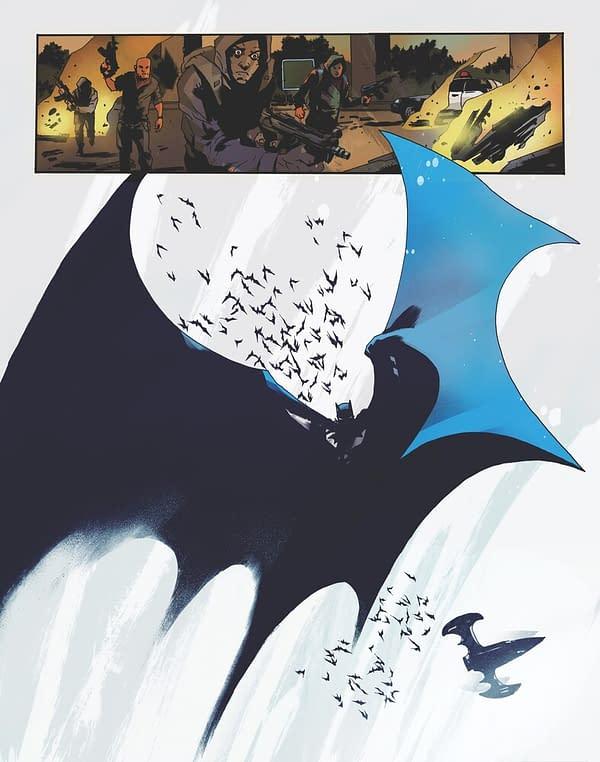 Art from Batman: One Dark Knight by Jock