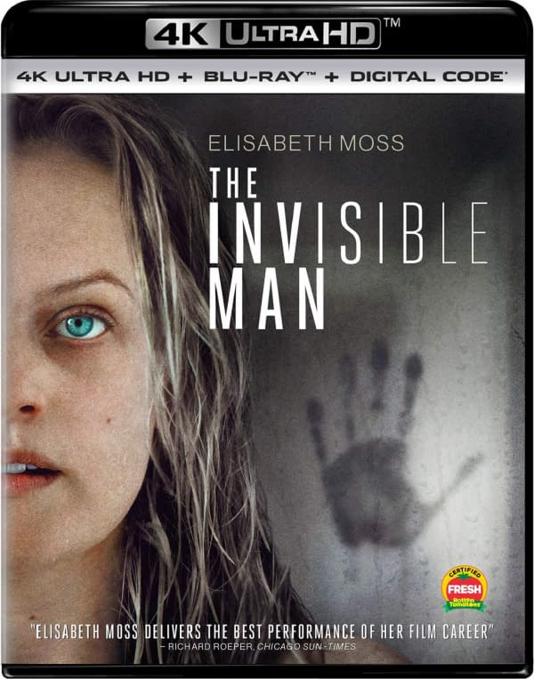 How would you like to own The Invisible Man on Blu-ray? Courtesy of Universal Pictures.