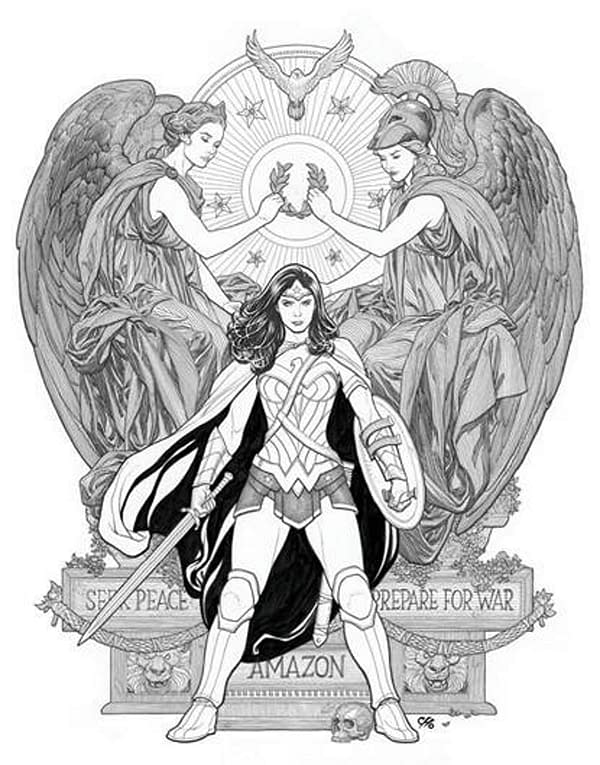DC Comics to Publish Poster Portfolio of Frank Cho