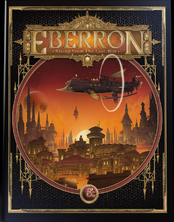 """""""Dungeons & Dragons"""" Announces """"Eberron: Rising From The Last War"""""""