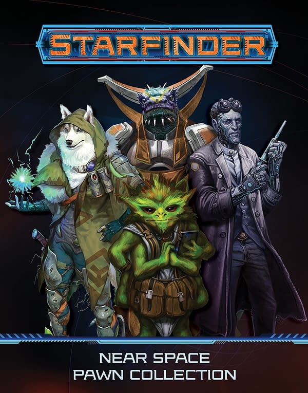 The Near Space Pawn collection from Paizo's science-fiction role-playing game, Starfinder.