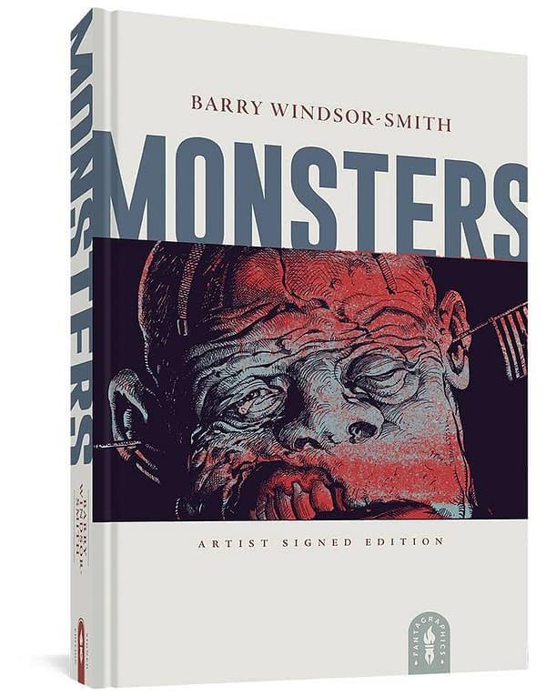 Cover image for BARRY WINDSOR-SMITH MONSTERS SGND HC (MR)