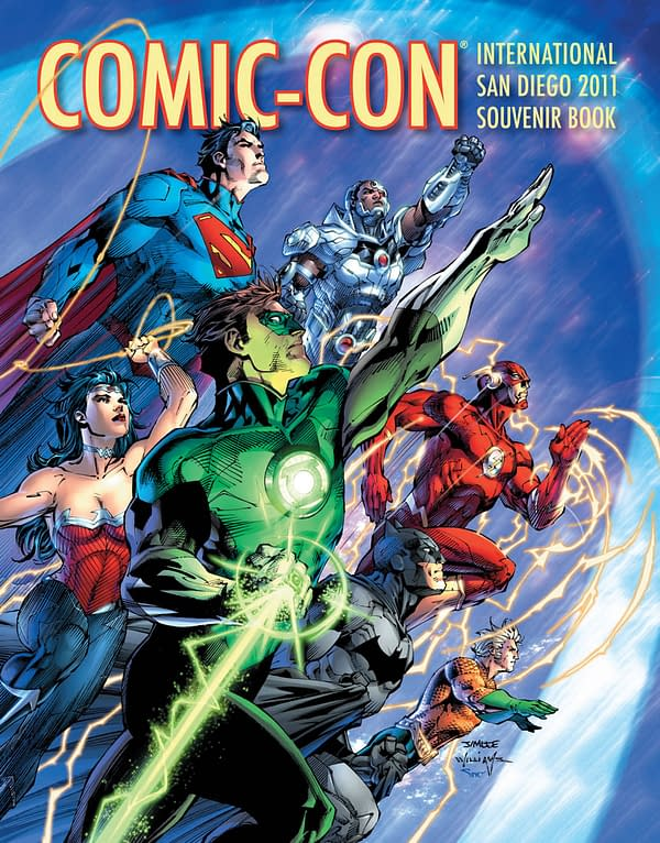 Comic Con Souvenir Book Features New Justice League At A Slightly Different Angle