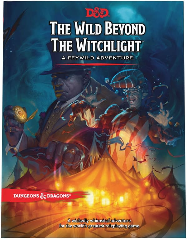 The main cover for The Wild Beyond The Witchight, courtesy of Wizards of the Coast.