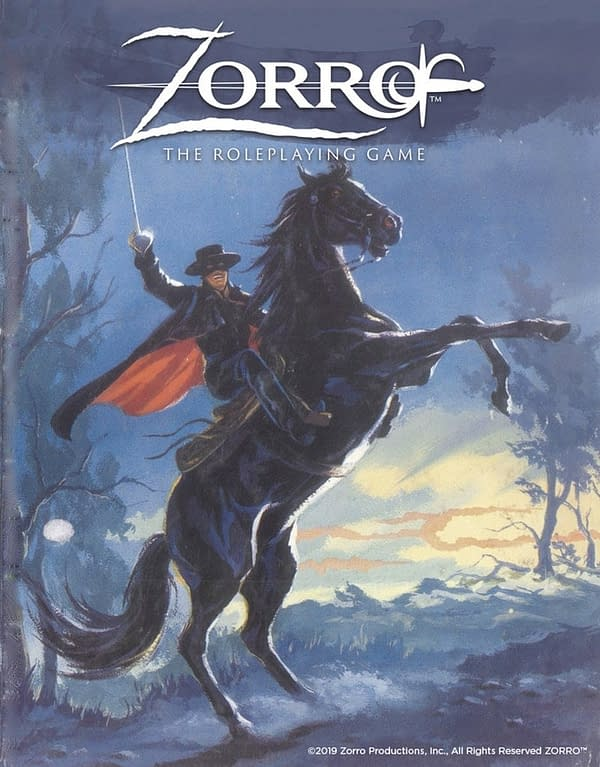 Alan Bahr on Zorro, West End Games, and Role Playing Games