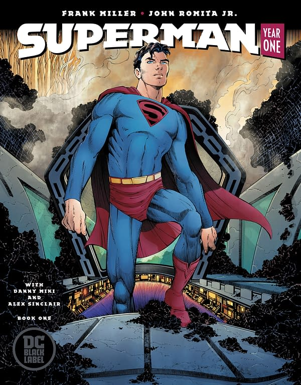 Watch the Trailer for Frank Miller and John Romita Jr.'s Superman: Year One
