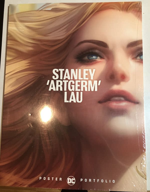 Stanley 'Artgerm' Lau DC Poster Portfolio Front Cover