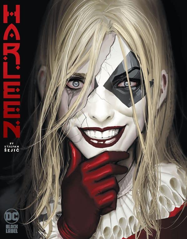 Harleen cover. Credit: DC Comics.