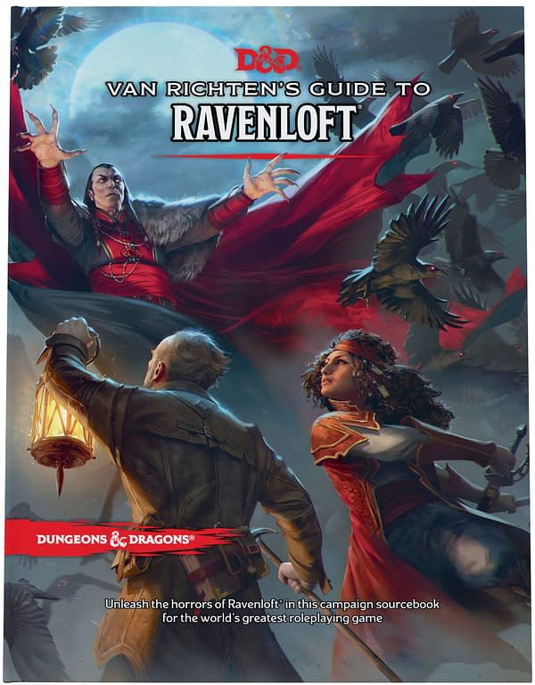 A look at the front cover to Van Richten's Guide To Ravenloft, courtesy of Wizards of the Coast.