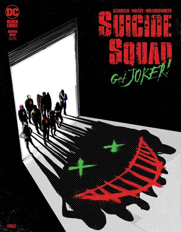 Cover image for SUICIDE SQUAD GET JOKER #1 (OF 3) CVR B JORGE FORNES VAR (MR)
