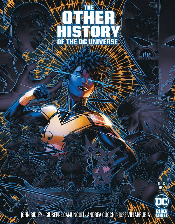 Cover image for OTHER HISTORY OF THE DC UNIVERSE #5 (OF 5) CVR B JAMAL CAMPBELL VAR (MR)