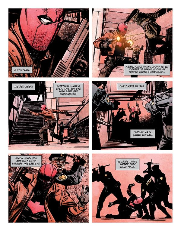 Interior preview page from SUICIDE SQUAD GET JOKER #1 (OF 3) CVR A ALEX MALEEV (MR)