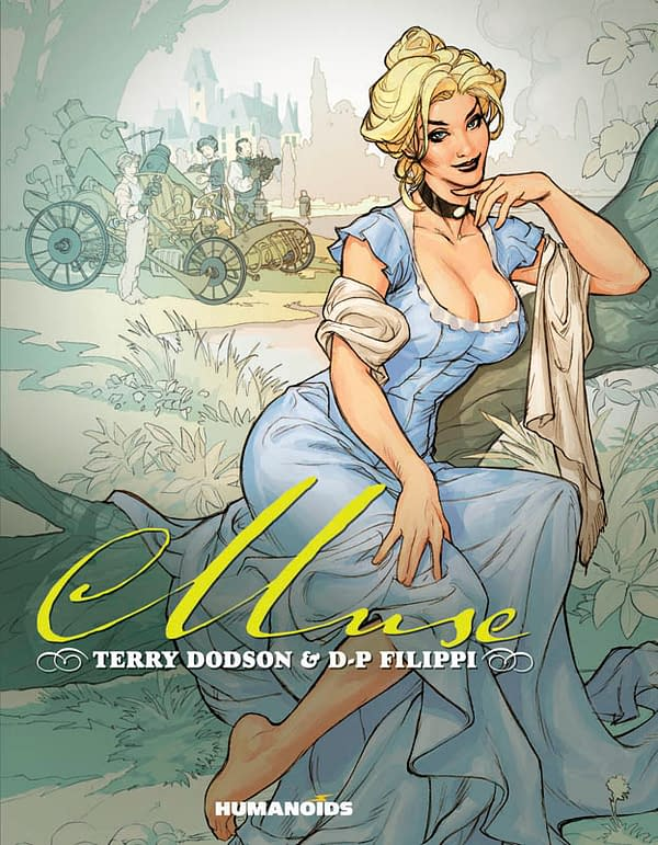 Terry Dodson's Muse… In English